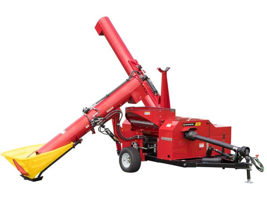 Horning shredder mill with auger