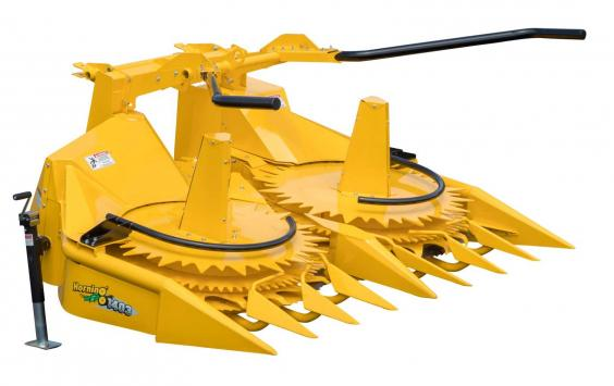 Horning 3-Row Row-independent corn head
